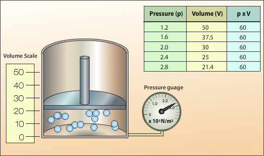 relationship between pressure of a gas and absolute temperature